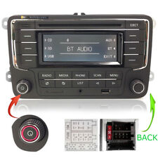 VW Autorradio RCN210 con BT USB AUX CD SD MP3 Golf,Tiguan,Sharan,Jetta,Caddy,T5