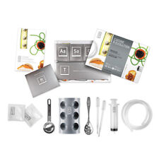 Kit Coffret Cuisine Moléculaire accessoires, 50 additifs, DVD 50 recettes