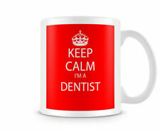 Keep Calm I'm A Dentist Red - Printed Mug