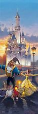 Disney Beauty and the Beast Sunset Waltz 456-piece jigsaw puzzle Tendoato