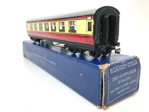 Hornby Dublo 3 Rail D12 BR Corridor Coach 1ST/3RD LMR M26133 OO Gauge - Boxed