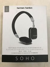 Harman/Kardon Soho Flat Foldable On-Ear Mini Headphones (READ NOTES)