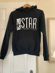 The Flash Inspired STAR Laboratories Hoodie Black XL Youth