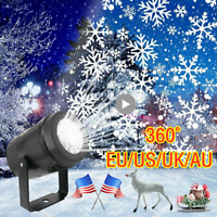 US Laser Fairy Light Projection Christmas Outdoor Projector LED Lamp Landscape