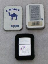 Vintage 1995 Camel Zippo Desert Sunset High Polish Chrome