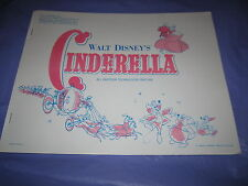 Walt Disney's Cinderella Press Kit with 8 Stills Buena Vista Distribution