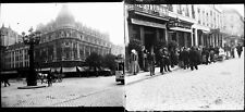 ANVERS La Ville c. 1900 - 22 Stéréos stéréo Verre Belgique - 202