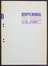 AKAI GXC-310D/310 Original Tape Recorder Service-Manual/Diagram/Parts List o216