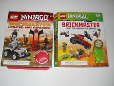 LOT 2  Lego Ninjago Brickmaster:  BOOKs ONLY build instructions story board