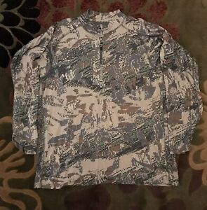 Sitka Open Country Merino Wool Quarter Zip Top-2XL