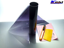 Blendstreifen mit verlauf schwarz-transparent 17x150cm Tönungsfolie sonnenkeil