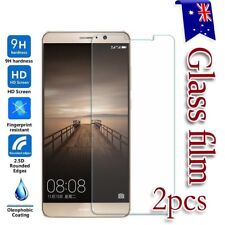 2x Huawei Ascend Mate 10 Pro 9 8 Tempered Glass /Pet Screen Protector Guard