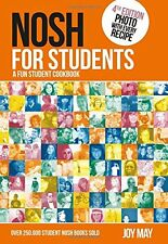 Nosh for Students - A Fun Student Cookbook by Joy May NEW [Paperback]