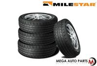 4 Milestar MS932 Sport 195/60R15 88H SL All-Season Traction M+S Performance Tire
