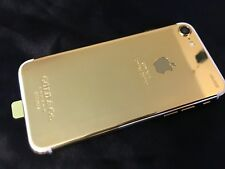 24k Gold plated customization over  Apple iPhone 7 - 128GB (Unlocked) Smartphone