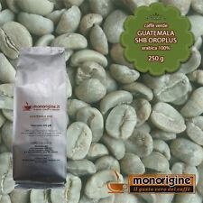 Caffè Verde in Grani Guatemala SHB Oroplus 250 gr - Caffè Arabica 100%