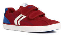 Geox J Kilwi B I Boys Red/Royal Trainer-100% Positive Review