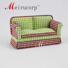 Fine 1/24 Scale Miniature Furniture Lattice pattern love seat