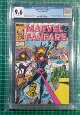 Marvel Fanfare #11 (1983) Key 1st App Iron Maiden CGC NM 9.6 Black Widow MCU