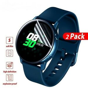 For Samsung Galaxy Active 2 Smart Watch Hydrogel Film Cover Screen Protector