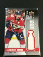 F60226  2019-20 Upper Deck Game Jerseys #GJAB Aleksander Barkov Panthers
