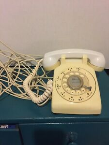 Vintage Western Electric Bell System Rotary Phone White