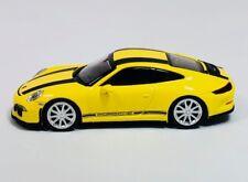 Minichamps 1/87 HO Porsche 991 911 R Yellow/Black 2016 PLASTIC 870 066222