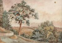 LANDSBERG GERMANY Watercolour Painting 19TH CENTURY - GRAND TOUR