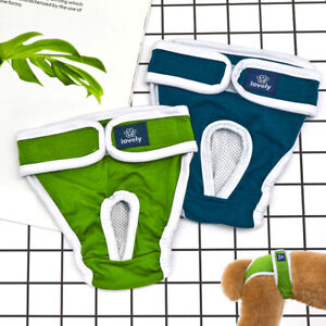 Pet Dog Puppy Washable Physiological Sanitary Menstrual Short Pants Diaper Nappy