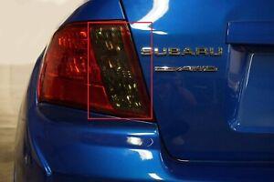 SMOKE Turn Signal & Reverse Light Tint Overlay for 2008 - 2014 Subaru WRX / STI