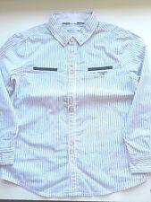 Chemise garçon Okaïdi 6 ans avec motif neuf avec étiquettes blanche à rayures