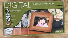 "Smartparts OptiPix Digital Picture Frame 9"" x 6 1/2"""