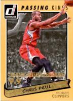 2015-16 Donruss Passing Kings Gold /95 Basketball Cards