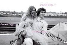 Francois Cevert & Female Fan Informal F1 Portrait Photograph