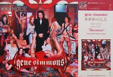 GENE SIMMONS POSTER, HOLE (Y1)