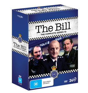 THE BILL - Complete Series 10 DVD (24 Disc) New/Sealed
