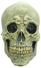 Skull Death Full Head Latex Mask Fancy Dress Adult One Size