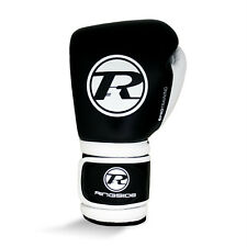 Ringside Pro Training G1 Boxing Gloves Black Kick Sparring Muay Thai Mitts