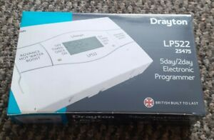 Drayton 123070 LP522 2 Channel Programmer - White