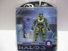 HALO 3 SERIES 2  SPARTAN SOLDIER EOD GREEN INTERCHANGEABLE ARMOR