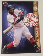 Mike Napoli FATHEAD 2014 Tradeable 5x7 +Team LOGO Decal Graphics RED SOX