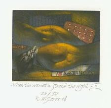 Exlibris Erotic ex libris by NISTOROV RUMEN /Bulgaria
