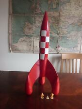 "Tintin Moon Rocket 67cm (27"") - Aroutcheff - rare."