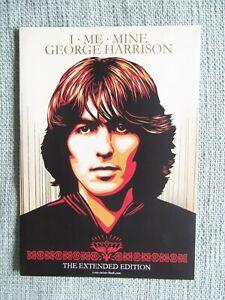 GENESIS PUBLICATIONS Beatles George Harrison I Me Mine A4 Promo Brochure