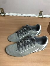 Vtg Diesel Industry PASS ON Size 9.5Sneakers Suede Gray Retro Skate Street Shoes