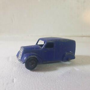 Vintage Dinky ford? Morris? Van blue 1:43