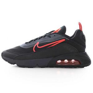 Nike Air Max 2090 270 90 Scarpe Uomo Nero rosso Sneakers sportive Originale 43