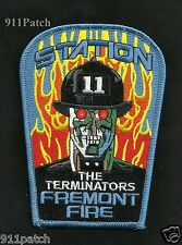 FREMONT, CA - THE TERMINATORS FREMONT Fire Station 11 FIREFIGHTER Patch