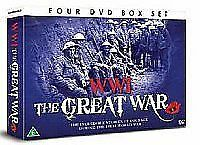 WWI THE GREAT WAR - The War To End All Wars - 4 DVD BOX SET