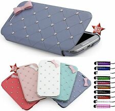 COVER CUSTODIA FLIP LIBRO MASCHERINA CASE per SAMSUNG GALAXY CORE PLUS  PENNINO